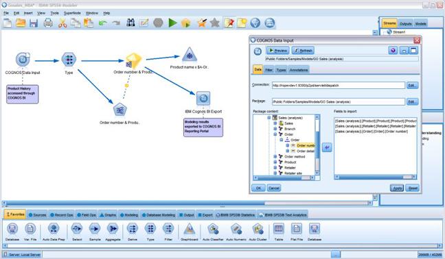 IBM SPSS Modeler - Data mining, text mining, predictive analysis
