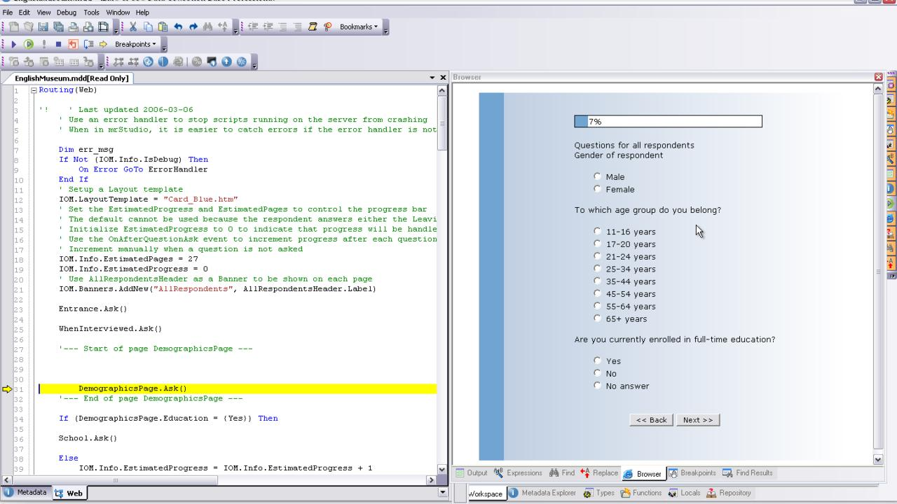 IBM SPSS Data Collection Author Professional